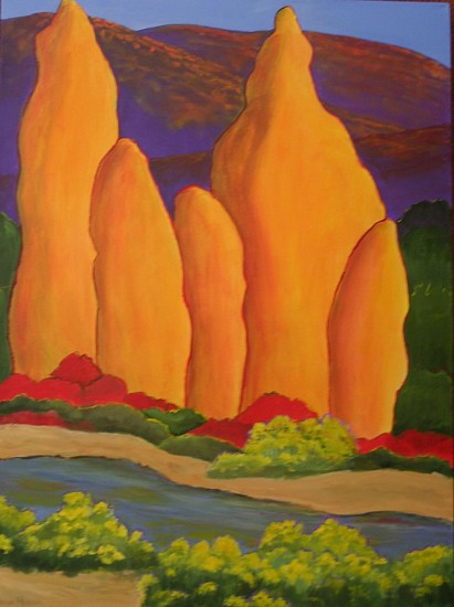 Regina Murphy, SPECIAL PLACES 12058 Acrylic on Canvas