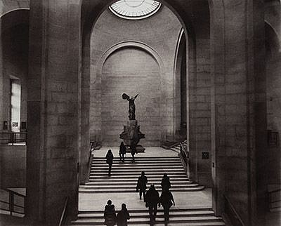 Catherine Adams, LOUVRE, INTERIOR, PARIS 2012, Vandyke brownprint