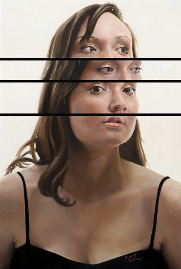 Shane Scribner, Kaitlyn 2015, Oil on Panel