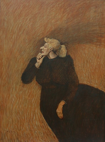 Dee J Lafon, THINKING 2007, Oil
