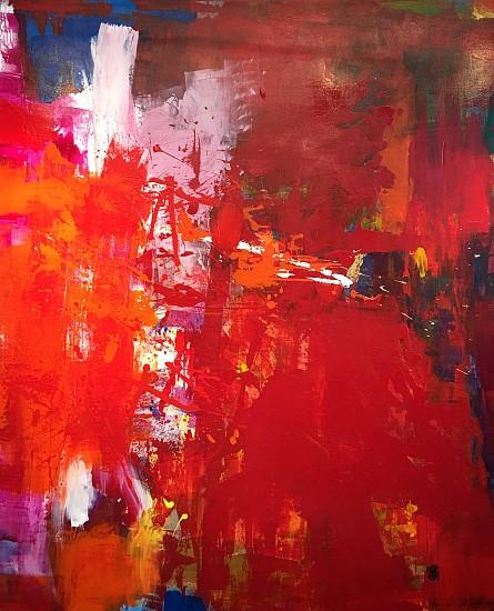 Behnaz Sohrabian, FUSION #2 2016, Acrylic on Canvas