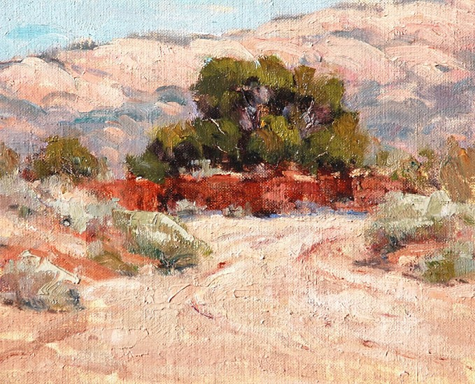 Janis Krendick, ALBUQUERQUE ARROYO 2017, Oil