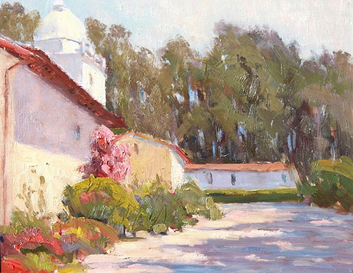 Janis Krendick, CARMEL MISSION I 2017, Oil