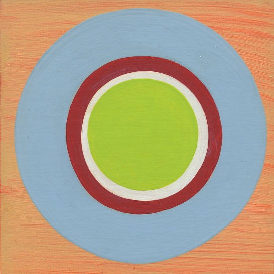 Laura Nugent, CIRCLES! 13 2017, Acrylic on Panel