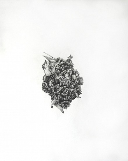 Haley Prestifilippo, SOMETIMES IT'S OUR OWN KIND Graphite on Paper