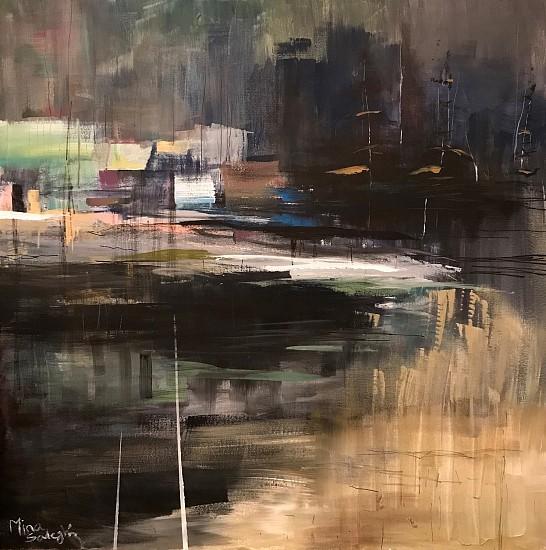 Mina Sadeghi, IMMORTALITY Acrylic on Canvas